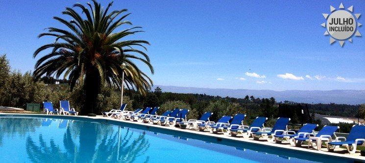 Noite de Verão e Romance c/ Espumante e Fruta Fresca! Hotel Urgeiriça 4*