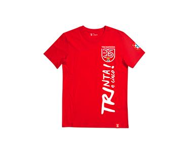 T-Shirt Trinta e Cinco Vertical | Escolha o Tamanho