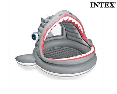 Piscina Insuflável Tubarão Intex®
