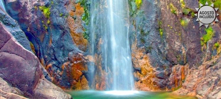 Conheça as Cascatas Naturais do Gerês! 2 Noites & Canyoning no Miradouro do Castelo