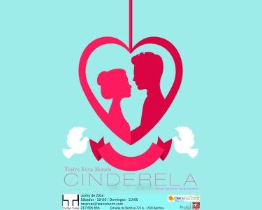 «A Cinderela» - Bilhete Duplo | Teatro Infantil no Teatro Turim
