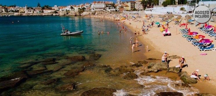 Um Destino Inesquecível a Dois Junto à Praia! Noite no Estoril