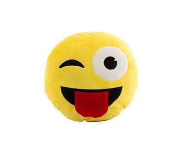 Almofada Emoji Wink