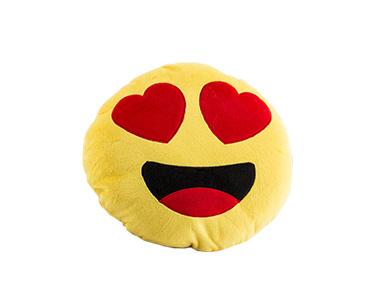 Almofada Emoji Heart Eyes