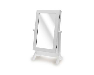 Espelho Guarda Jóias | Branco