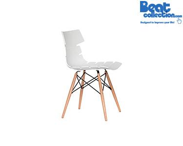 Cadeira Beat Vintage Branco