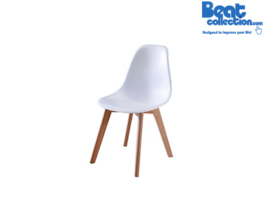 Cadeira Tower Wood Vintage | Branco