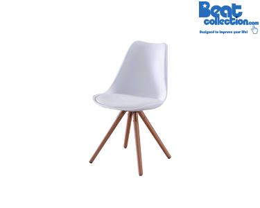 Cadeira Special Tower Wood | Branco