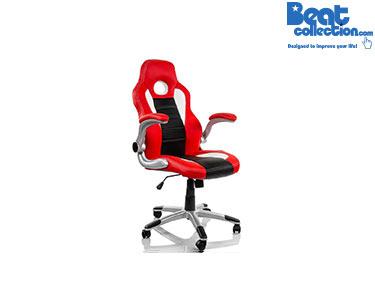 Cadeira de Escritório Gaming Vermelho