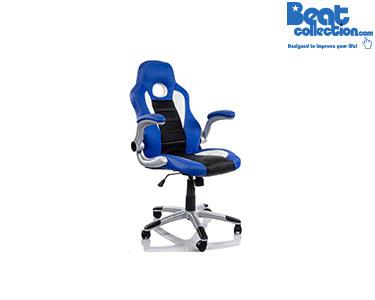 Cadeira de Escritório Gaming Azul