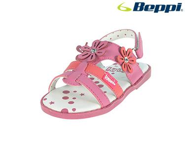 Sandálias Beppi® For Baby | Flor Fucshia