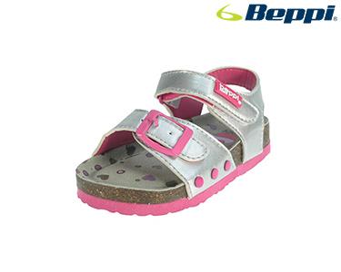 Sandálias Casuais Beppi® For Kids | Prateado c/ Fivela