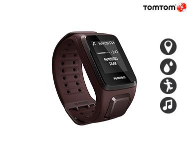 TomTom® Spark Castanho L   Música 3GB + GPS  + Multidesportos