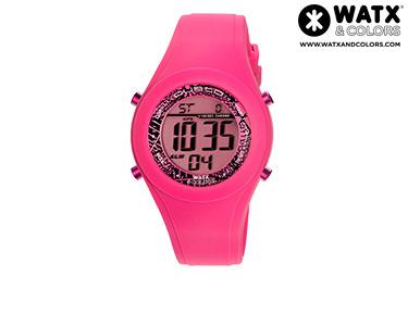 Relógio Watx & Colors® Custo Digital | Rosa