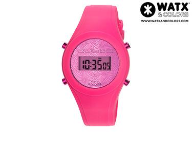 Relógio Watx & Colors® Custo Digital Simples | Rosa
