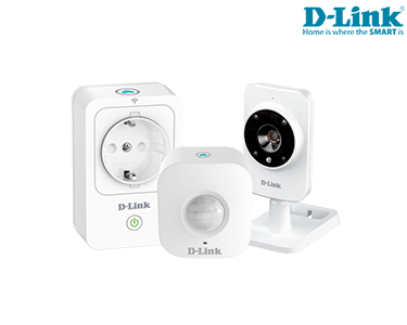 Kit D-Link® Smart Home DCH-100KT | Casa Inteligente