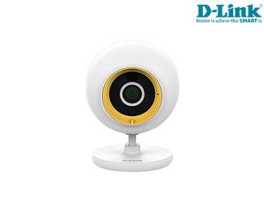 Câmara D-Link® Bebés EyeOn | Wi-Fi | Detetor Movimento | Altifalantes | Smartphone