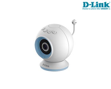 Câmara D-Link® Vigilância HD | Visão Nocturna | Detecção Som & Movimento