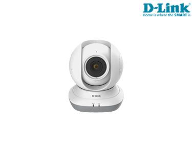 Câmara D-Link® HD | Rotação 360º | Zoom 4x | IOS e Android  | Sensor