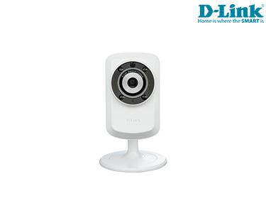 Câmara D-Link® Videovigilância Wireless | Dia & Noite  |  Streaming