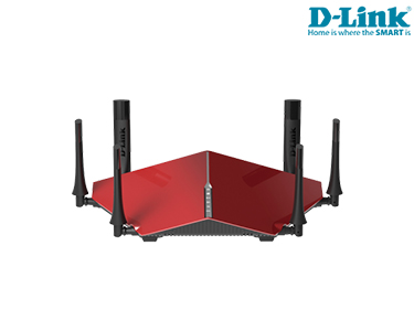 D-Link® Router Gamming | Tri Band Wi-Fi | HD Streaming & Gaming