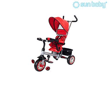 Triciclo com Assento Rotativo | Vermelho