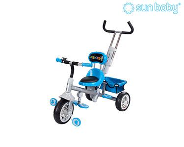 Triciclo com Assento Rotativo | Azul