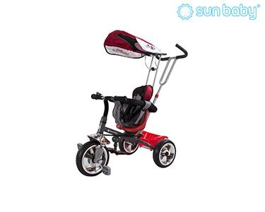 Triciclo c/ Assento Rotativo e Cestinho | Vermelho