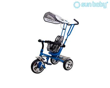 Triciclo Controlado Super Trike   Azul Escuro