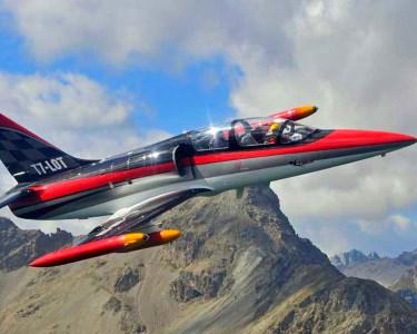 Fenomenal Voo em Jacto L-39 c/ Piloto da Frecce Tricolori   Itália