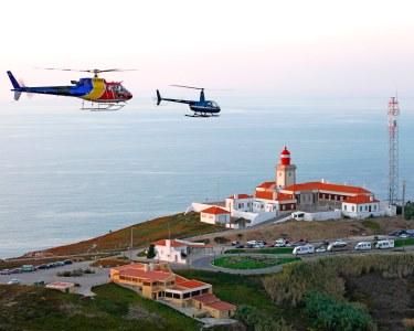 De Lisboa a Sintra de Helicóptero | Voo Exclusivo para Dois + Almoço no Tivoli Seteais