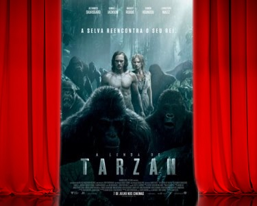 «A Lenda de Tarzan» no Cinema City | Bilhete + Pipocas | 6 Locais
