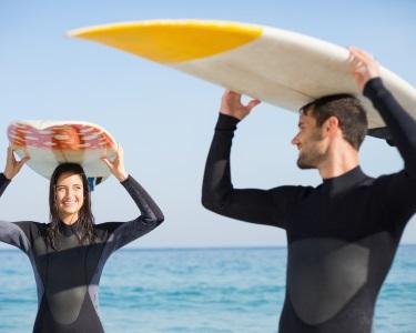 Aula de Surf para Dois na Caparica | 1 Hora | Big Surf