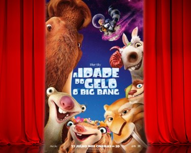 «A Idade do Gelo: o Big Bang» no Cinema City | Bilhete + Pipocas | 6 Locais