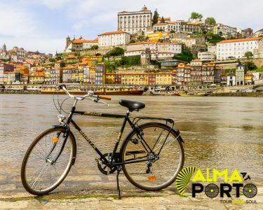 Passeio de Bicicleta e Cruzeiro pela Ribeira do Porto | 4h