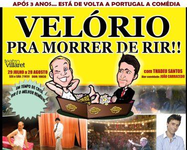 «Velório Pra Morrer de Rir!' | Comédia no Teatro Villaret