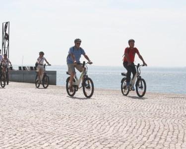 Passeio de Bicicleta Eléctrica a Dois | Lisboa, 3h - 0% Transpiração, 100% Divertimento!