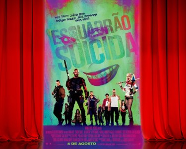 «Esquadrão Suicida» no Cinema City | Bilhete + Pipocas | 6 Locais