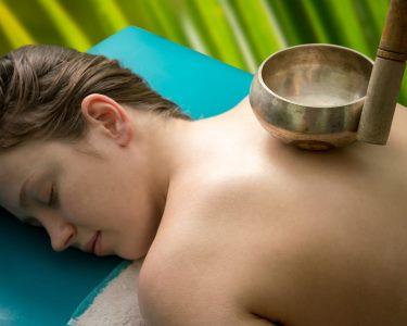 Ritual de Massagem com Taças Tibetanas | 1 Hora | Spa VABELL - Qta. do Conde