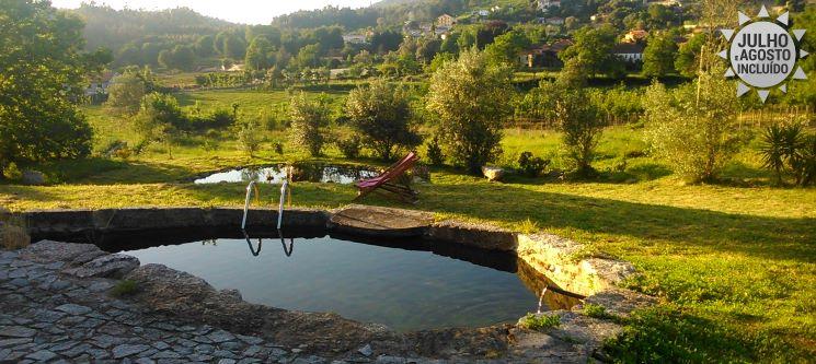 Braga Maravilhosa! 1 a 3 Noites de Férias na Quinta do Riacho
