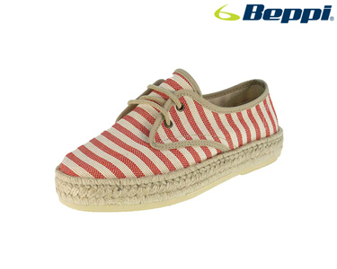 Sapatos Casuais Beppi® | Vermelho e Branco