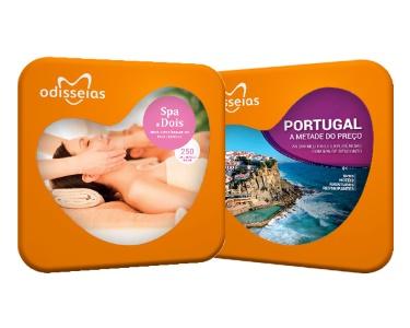 2 Presentes: SPA a Dois + Portugal a Metade do Preço