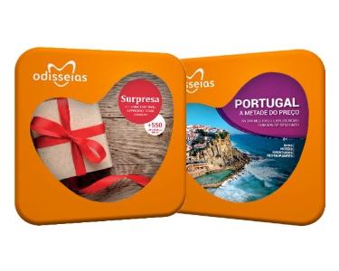 2 Presentes: Surpresa & Portugal a Metade do Preço