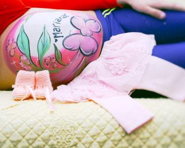 Especial Mamã: Belly Painting c/ Tema à Escolha | 1h | Olivais