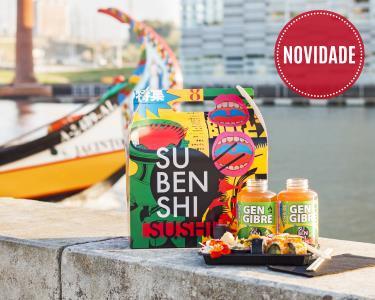 Passeio de Moliceiro em Aveiro + Degustação de Sushi a Bordo   2 Pessoas