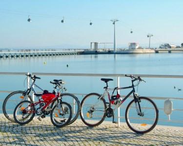 Lisbon by Bike for Two! Aventura Total nas Zonas Ribeirinhas | 1h30