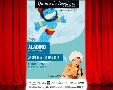 «Aladino» | Espectáculo Infantil na Quinta da Regaleira