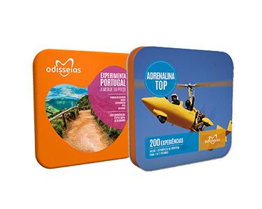 2 Presentes: Adrenalina Top e Experimenta Portugal
