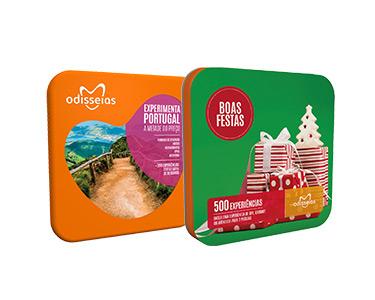 2 Presentes para o Natal: Boas Festas + Experimenta Portugal = 29,90€ [Entrega Gratuita]