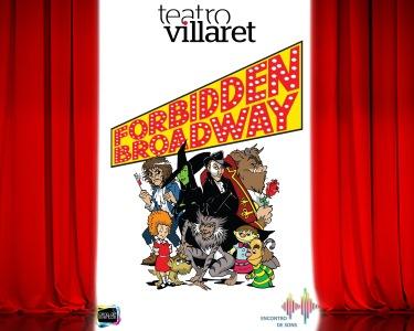«Forbidden Broadway» | Espectáculo Musical & Humorístico no Teatro Villaret